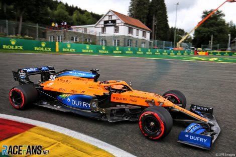 Carlos Sainz Jnr, McLaren, Spa-Francorchamps, 2020