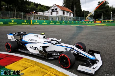 Nicholas Latifi, Williams, Spa-Francorchamps, 2020