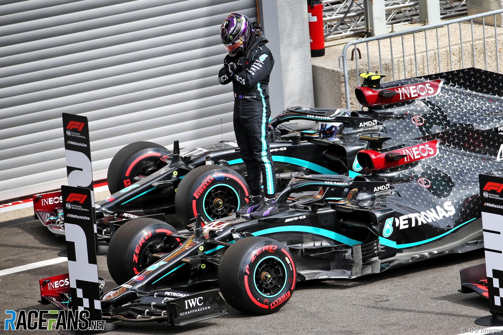 Lewis Hamilton, Mercedes, Spa-Francorchamps, 2020