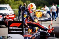 Verstappen: Energy loss didn't cost me front row start
