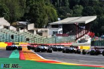 Spa's artificial grass replaced with asphalt in run-offs for motorbike racing