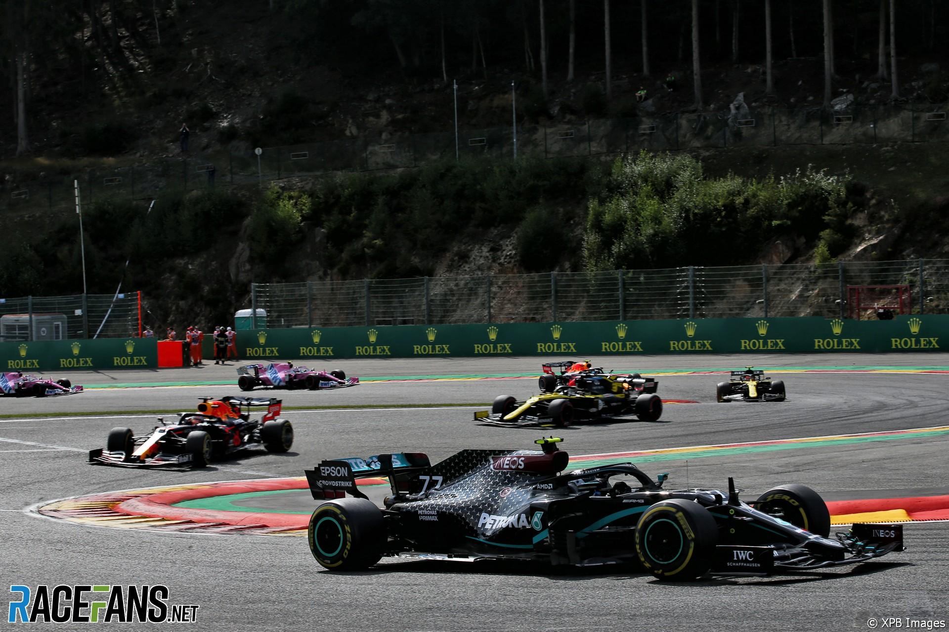 Valtteri Bottas, Mercedes, Spa-Francorchamps, 2020