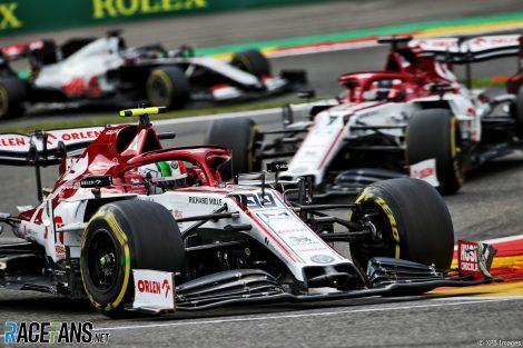 Antonio Giovinazzi, Alfa Romeo, Spa-Francorchamps, 2020