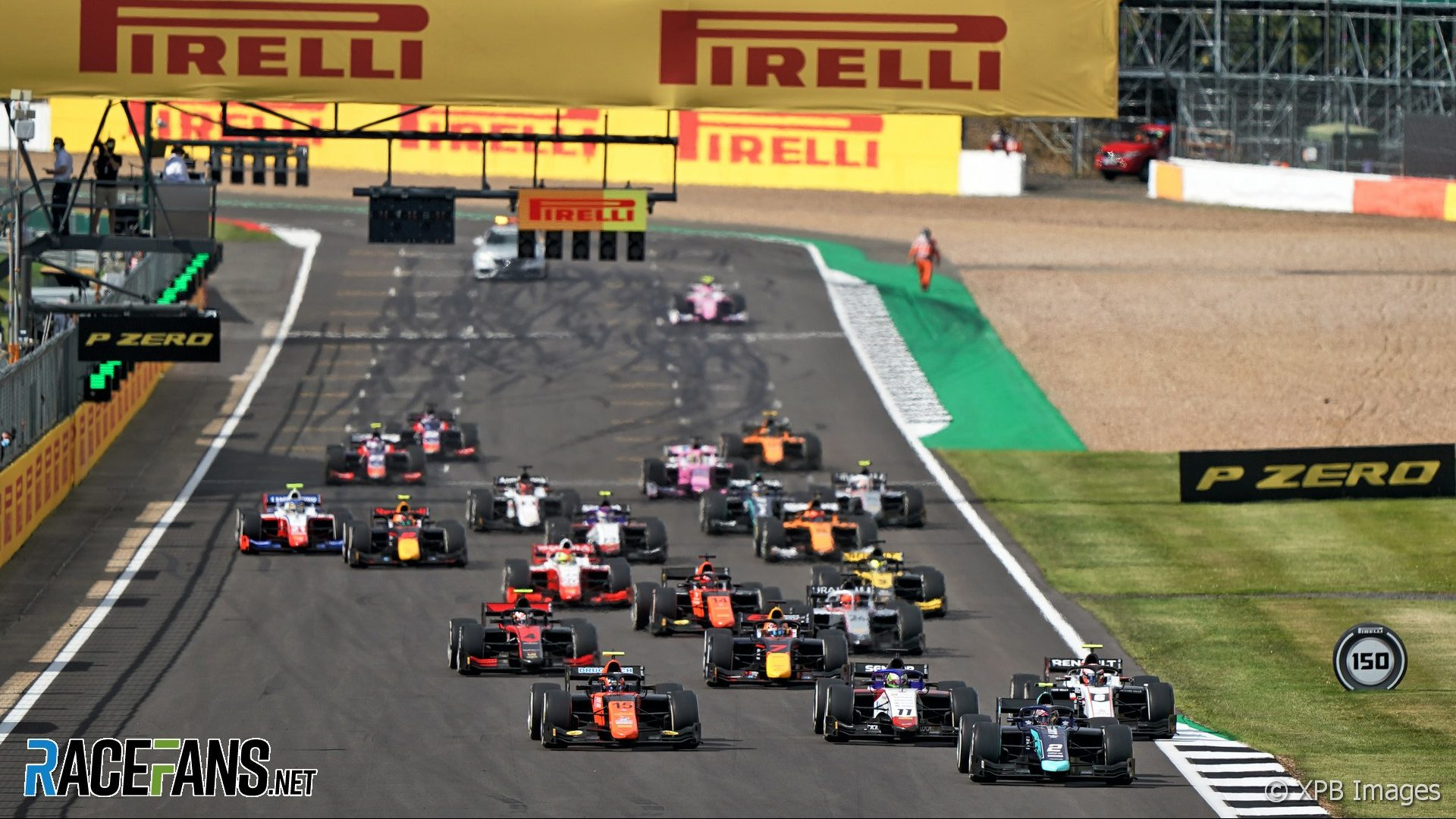 Start, Formula 2, Silverstone, 2020