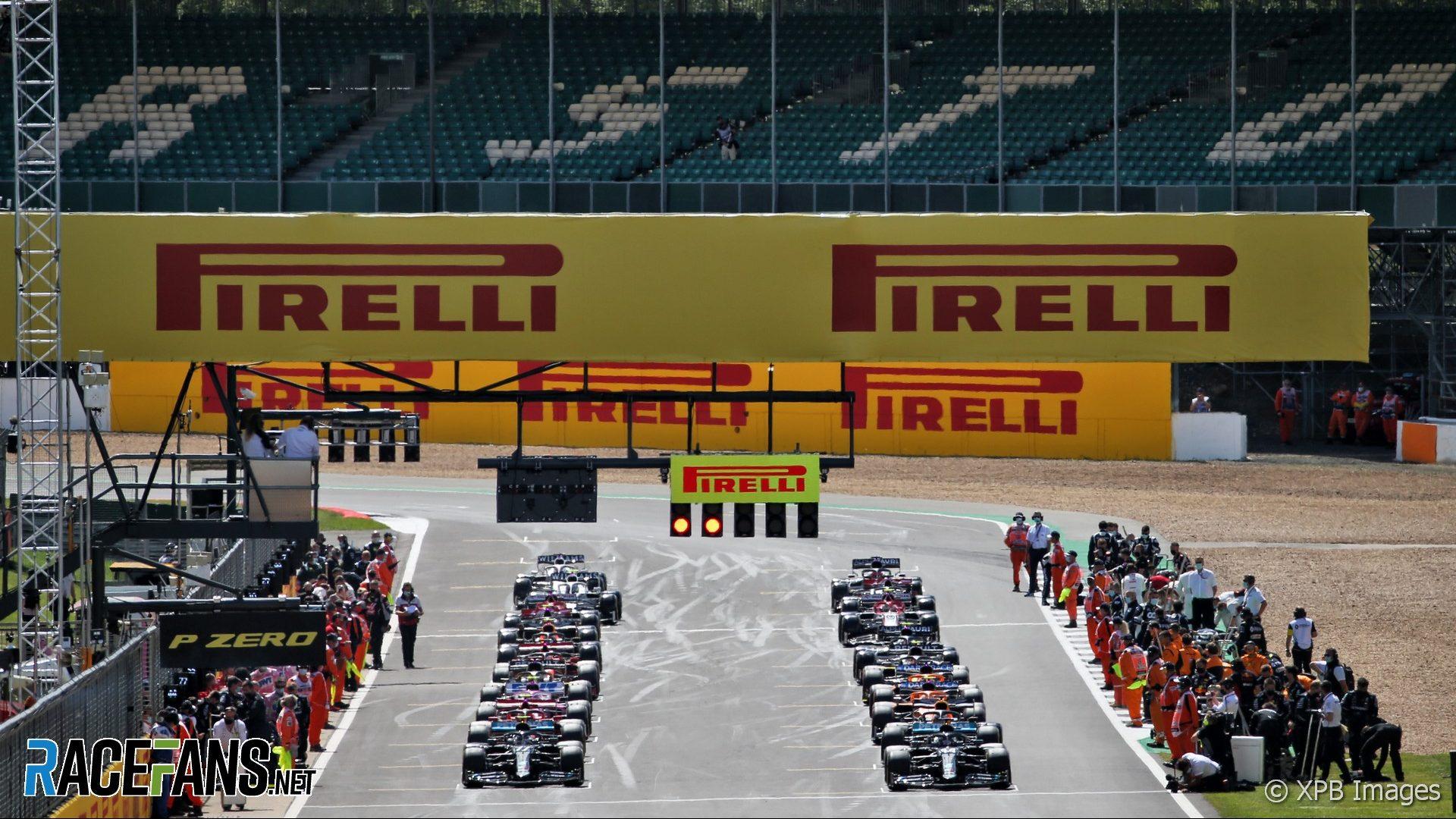 Grid, Silverstone, 2020