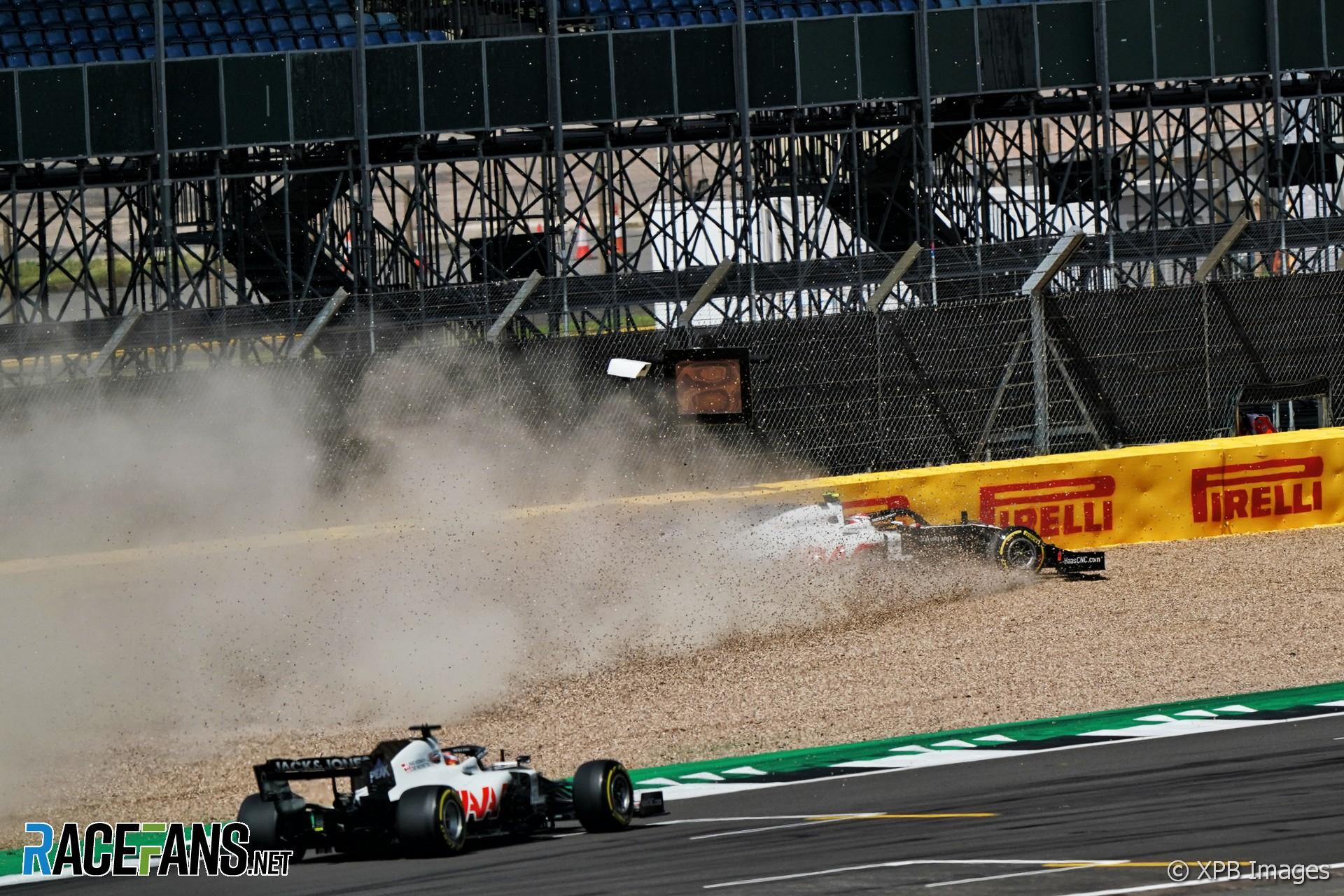 Kevin Magnussen, Haas, Silverstone, 2020