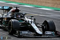 Pirelli in race to solve tyre troubles after Hamilton's three-wheeled win