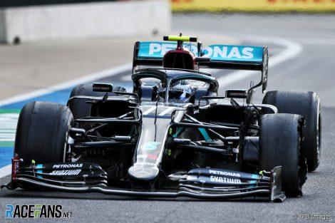 Valtteri Bottas, Mercedes, Silverstone, 2020