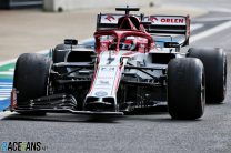 Kimi Raikkonen, Alfa Romeo, Silverstone, 2020