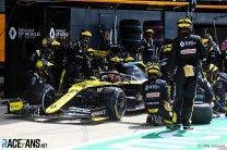 Esteban Ocon, Renault, Silverstone, 2020