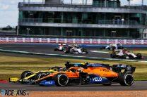 Daniel Ricciardo, Lando Norris, Silverstone, 2020