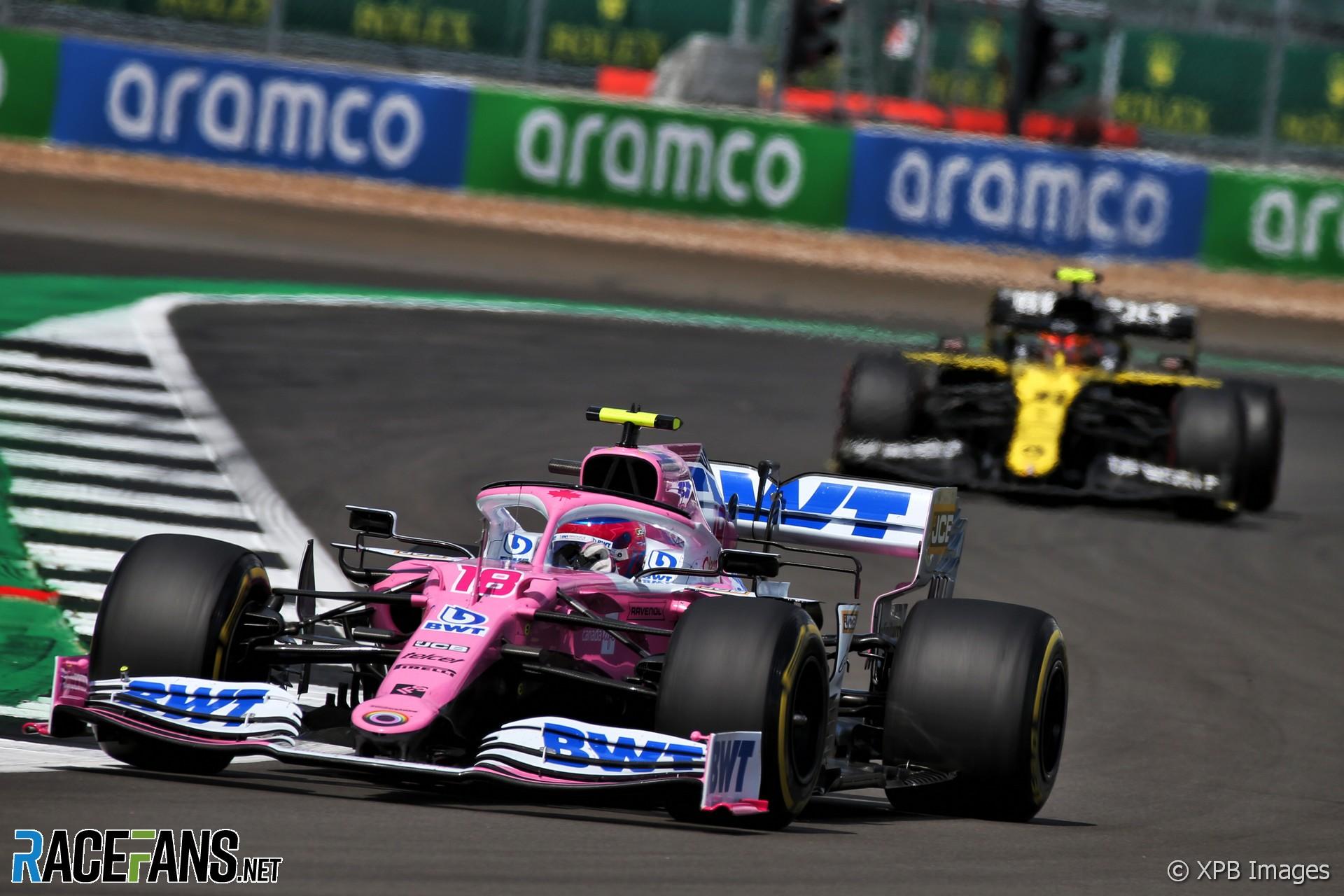 Lance Stroll, Racing Point, Silverstone, 2020