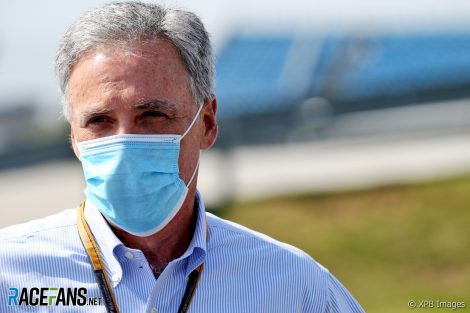 Chase Carey, Silverstone, 2020