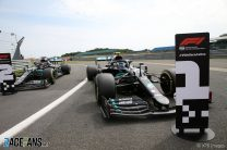 Bottas snatches pole from Hamilton as Hulkenberg puts Racing Point third