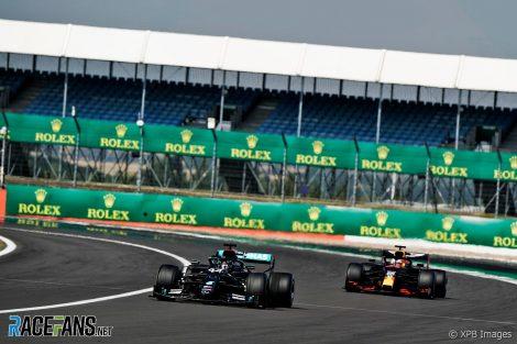 Lewis Hamilton, Max Verstappen, Silverstone, 2020