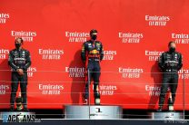 Verstappen stuns Mercedes with Silverstone victory