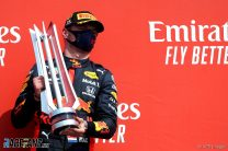 """Verstappen says more wins will be difficult with """"conservative tyres"""""""