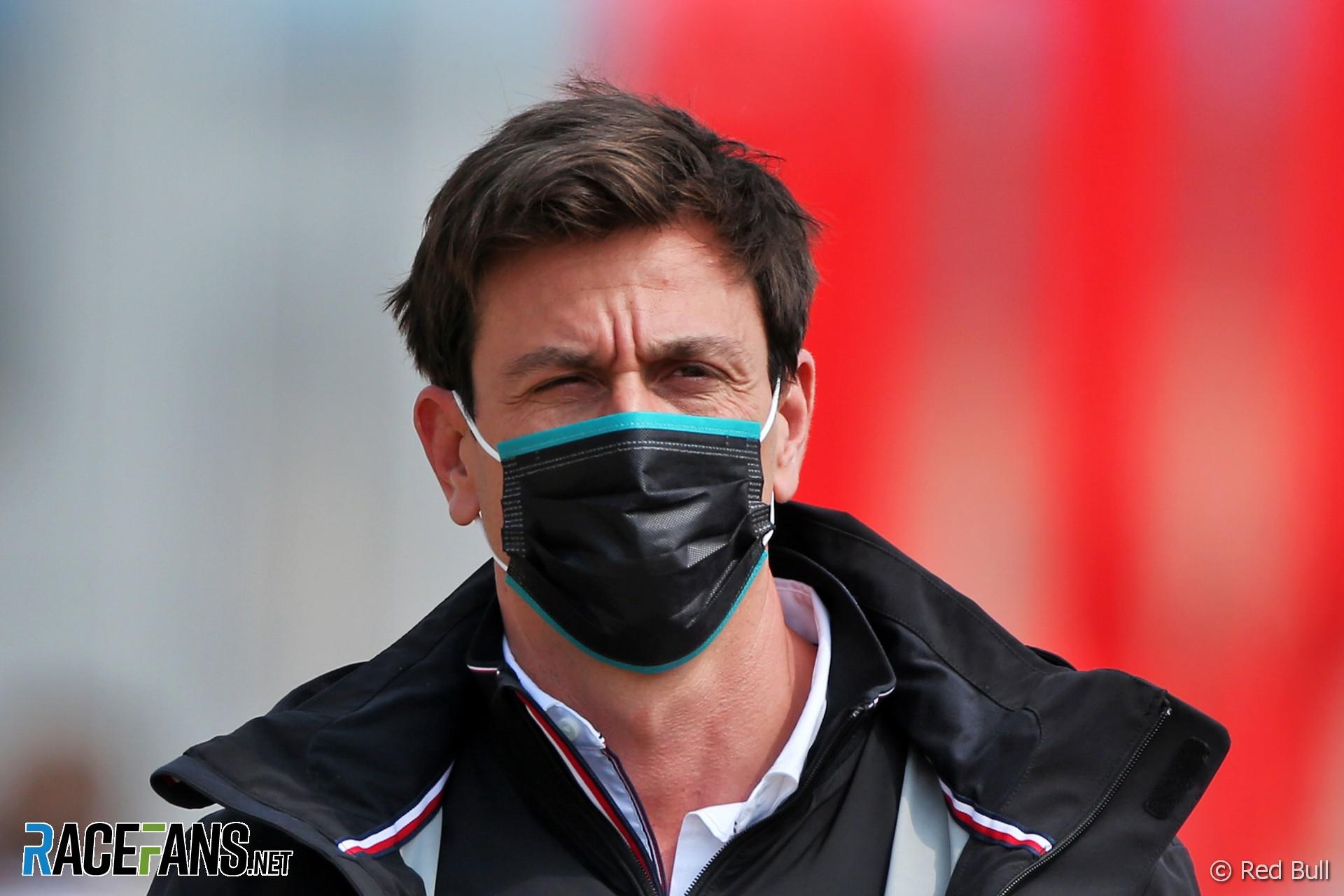 Toto Wolff, Mercedes, Silverstone, 2020