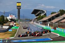 Matsushita rises from 18th to win frenetic Barcelona feature race