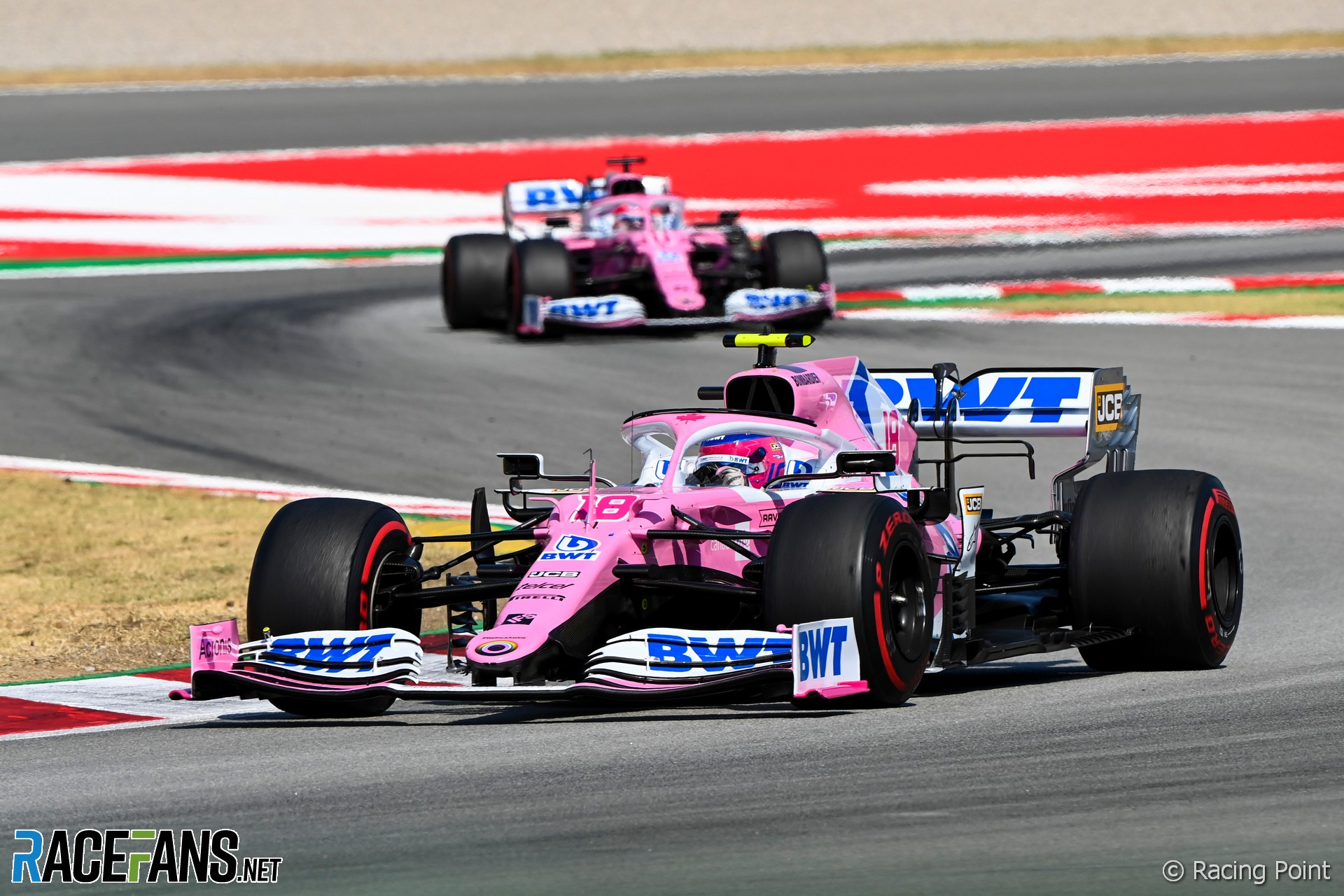 Lance Stroll, Racing Point, Circuit de Catalunya, 2020