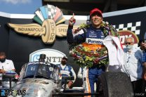 Sato says he didn't need late caution to win Indy 500