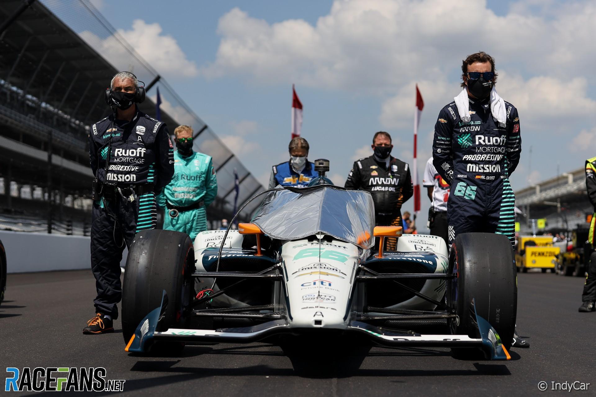 Fernando Alonso, McLaren, IndyCar, Indianapolis 500, 2020