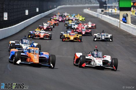Start, Indianapolis 500, Indianapolis Motor Speedway, 2020