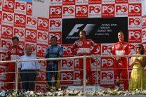 Massa grabs first win as Alonso soaks up pressure from Schumacher