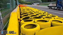 Tyre barrier changed at scene of Hubert's fatal crash