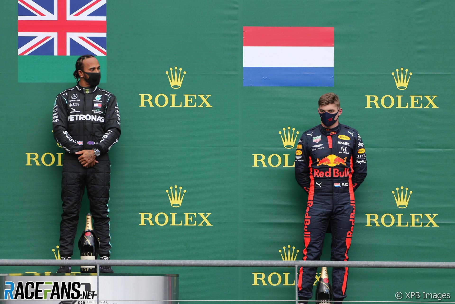 Lewis Hamilton, Max Verstappen, Spa-Francorchamps, 2020