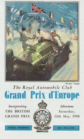 Silverstone 1950 programme
