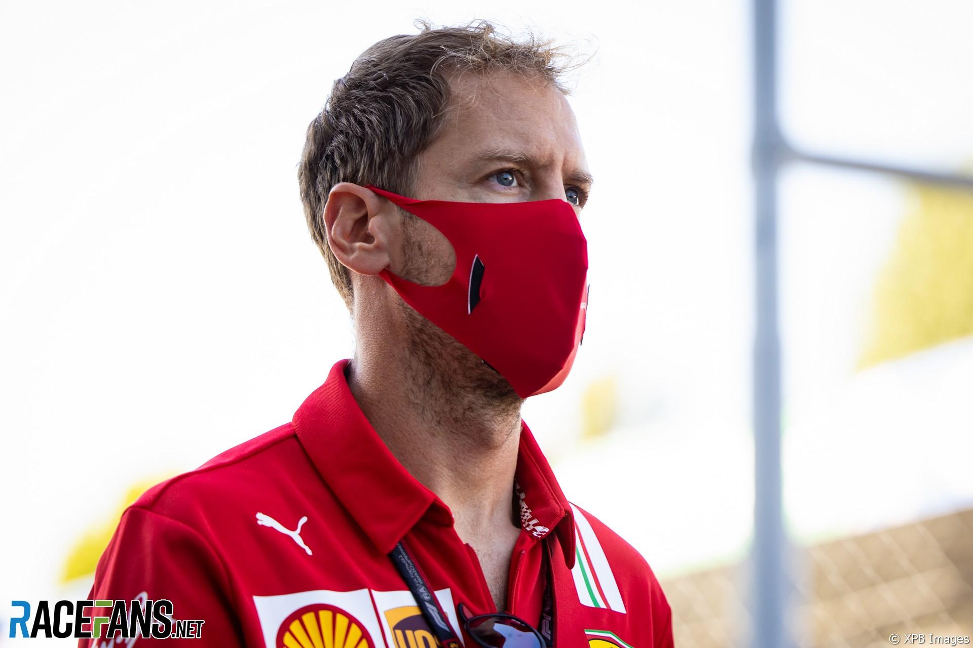 Sebastian Vettel, Ferrari, Monza, 2020