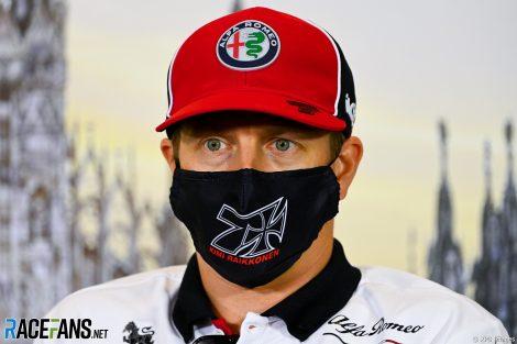 Kimi Raikkonen, Alfa Romeo, Monza, 2020