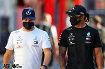 Bottas is not pushing Hamilton as hard as Rosberg did, says Button