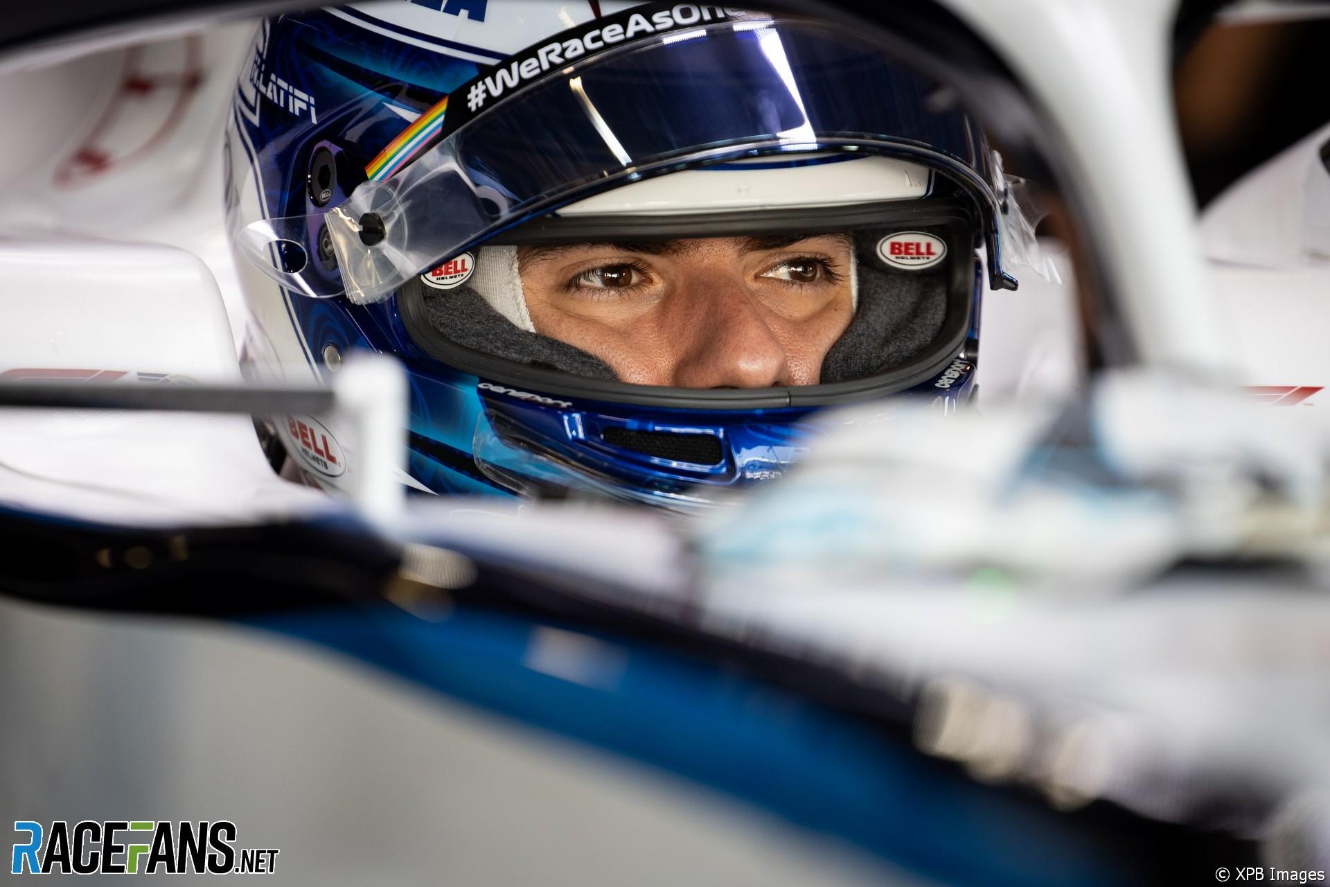 Roy Nissany, Williams, Monza, 2020