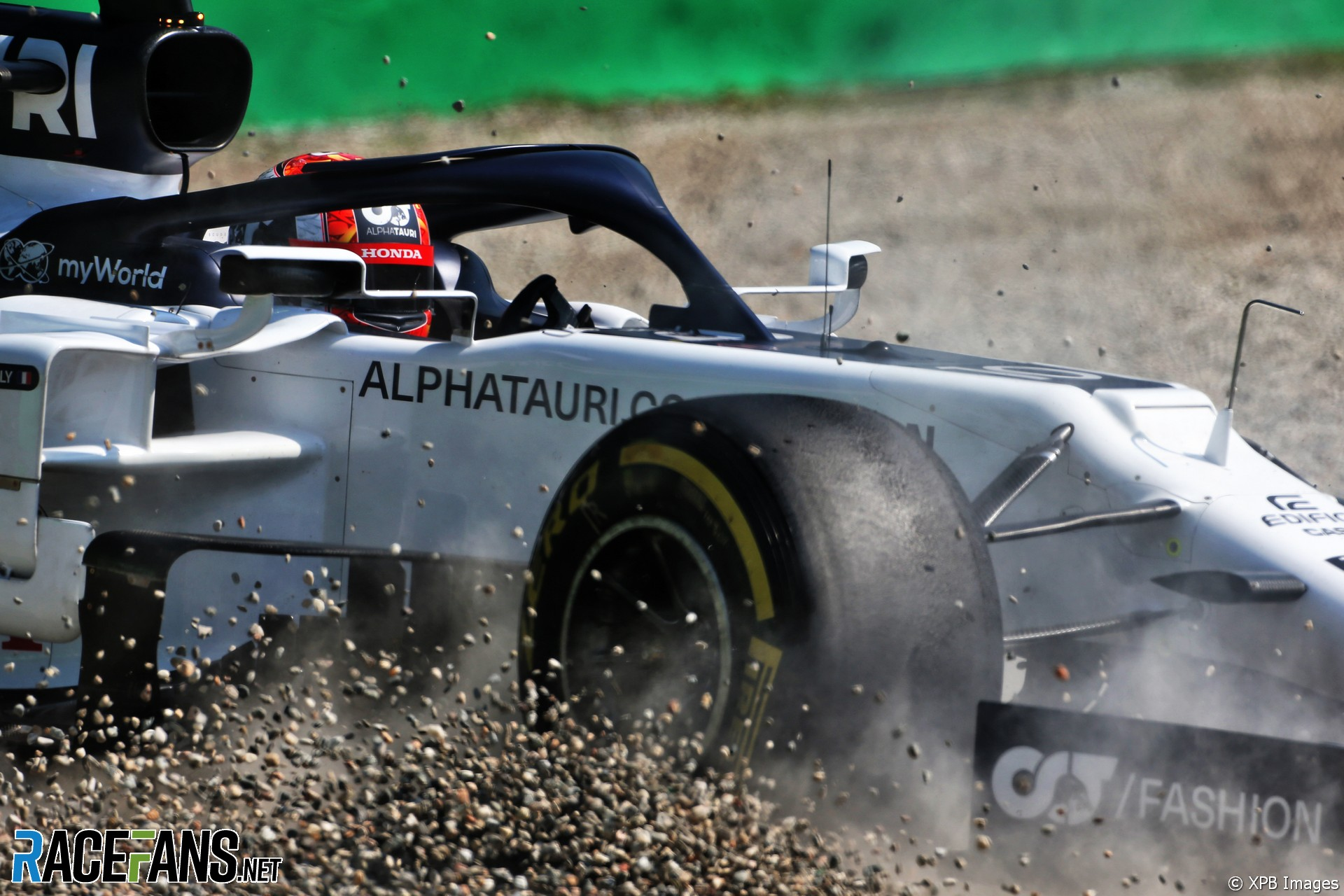 Pierre Gasly, AlphaTauri, Monza, 2020