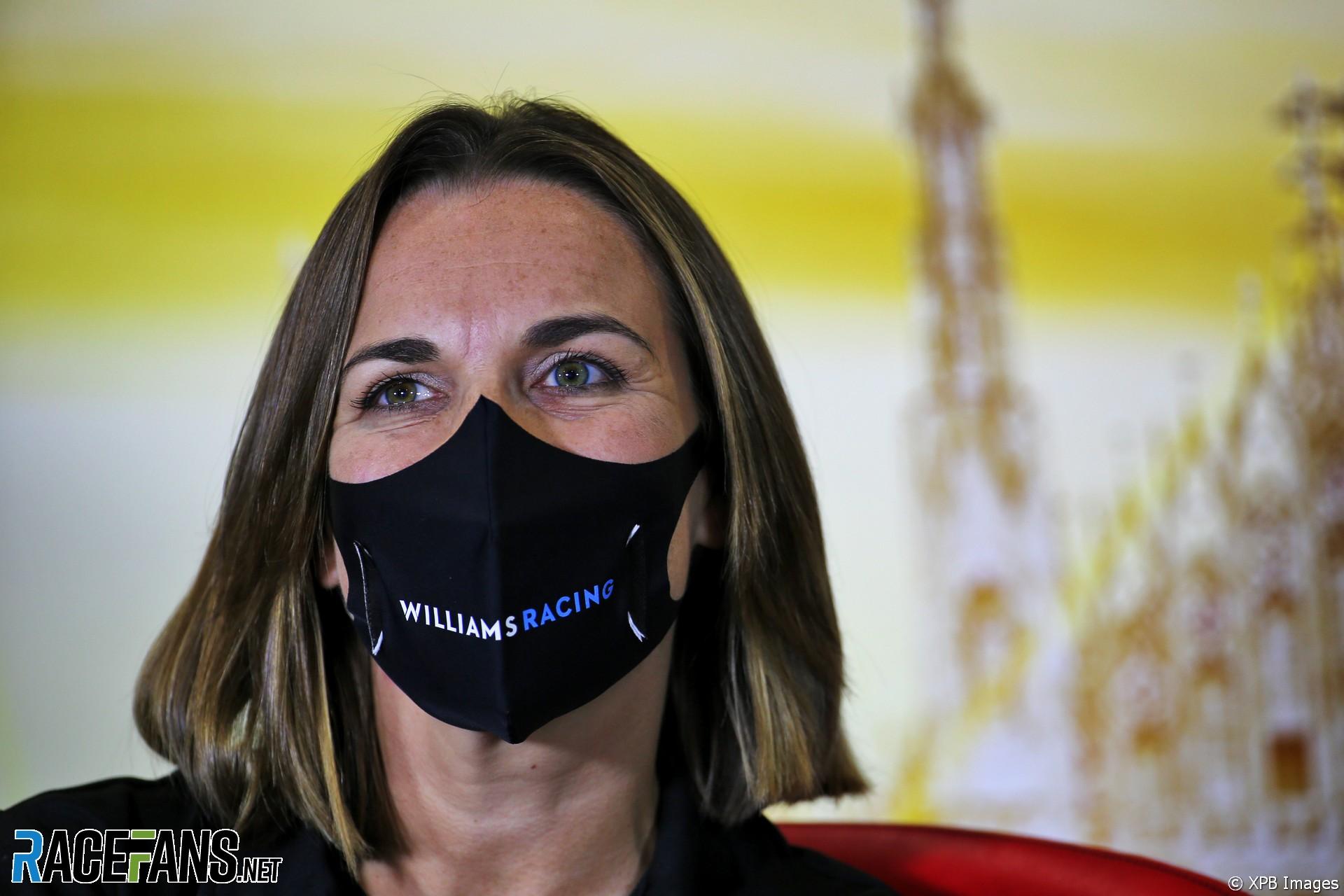 Claire Williams, Williams, Monza, 2020