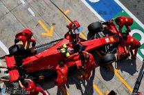 Charles Leclerc, Ferrari, Monza, 2020