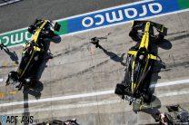 Esteban Ocon, Daniel Ricciardo, Renault, Monza, 2020