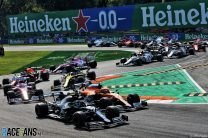 Start, Monza, 2020