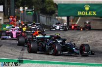 Bottas 'nearly went before the lights again' at start