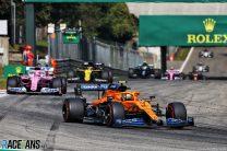 Ricciardo impressed by McLaren's Italian GP performance