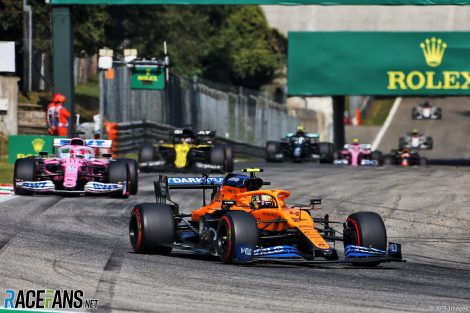 Lando Norris, McLaren, Monza, 2020