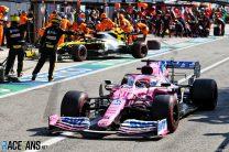 Sergio Perez, Racing Point, Monza, 2020
