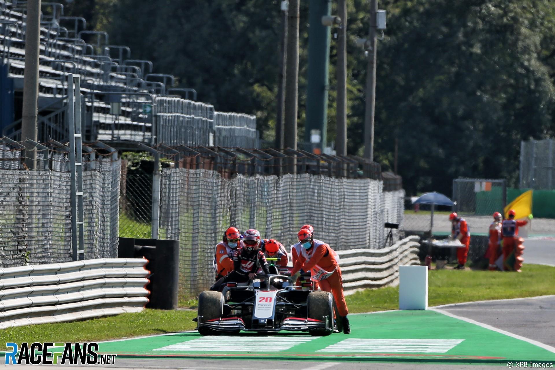 Kevin Magnussen, Haas, Monza, 2020