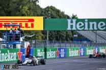 Gasly beats Sainz in closest F1 finish for 10 years