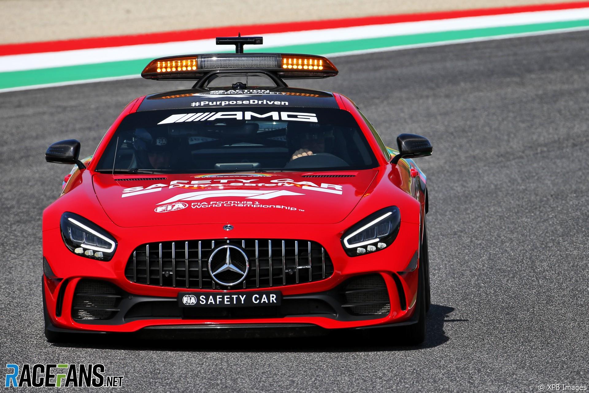 Safety Car, Mugello, 2020