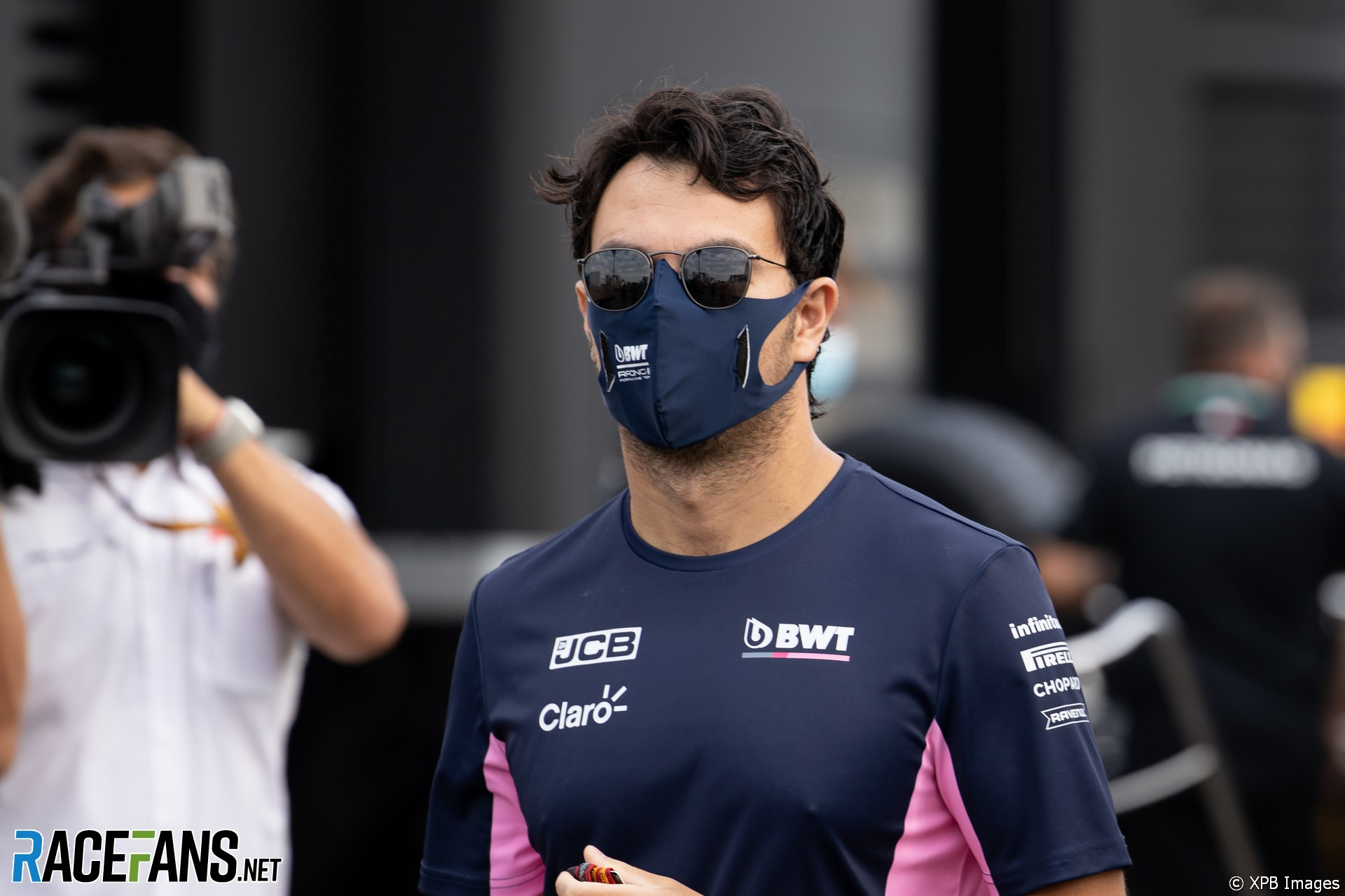 Sergio Perez, Racing Point, Mugello, 2020