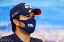 """Racing Point surprised by Perez's """"strange"""" claim they were """"hiding things"""" from him"""