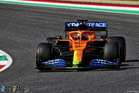 Carlos Sainz Jnr, McLaren, Mugello, 2020